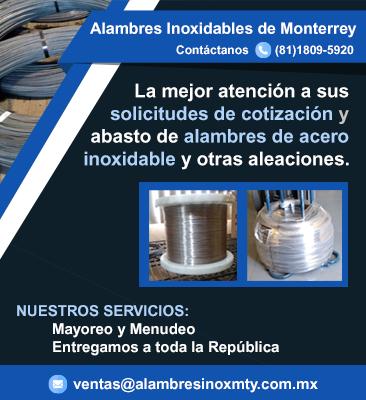 Alambres Inoxidables de Monterrey, S. de R.L. de M.I.