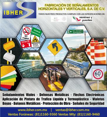 Fabricación de Señalamientos Horizontales y Verticales, S.A. de C.V. IBHER
