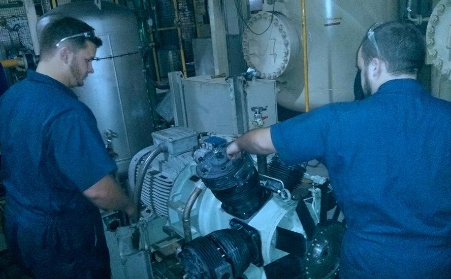 trucos y consejos para compresores navales