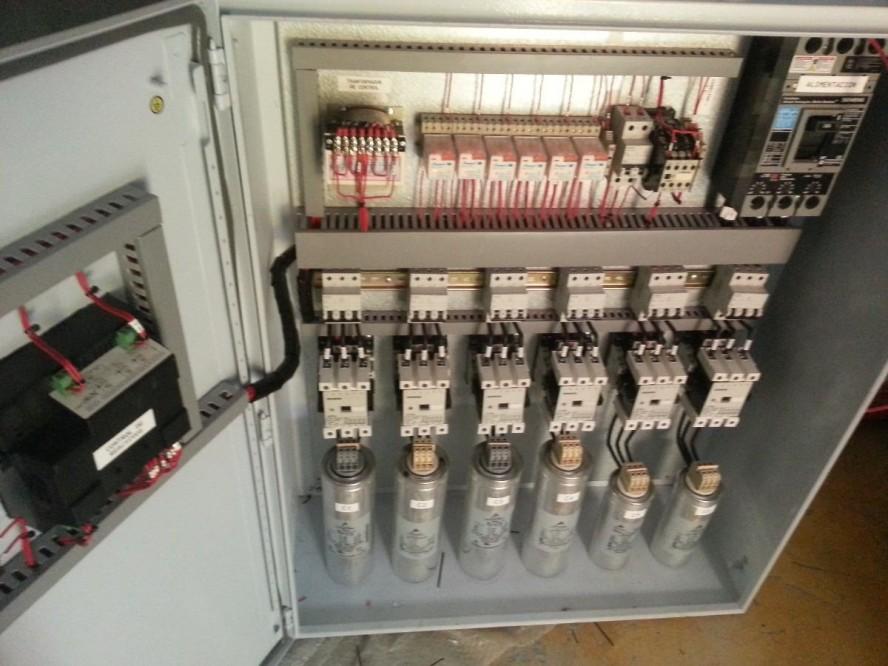 Banco de capacitores, disminución en picos de voltaje