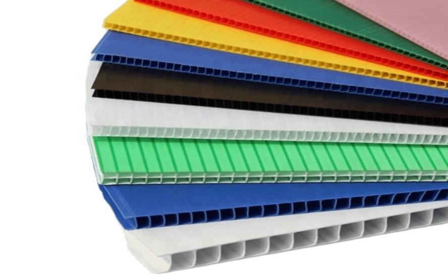 coroplast para empaque y embalaje
