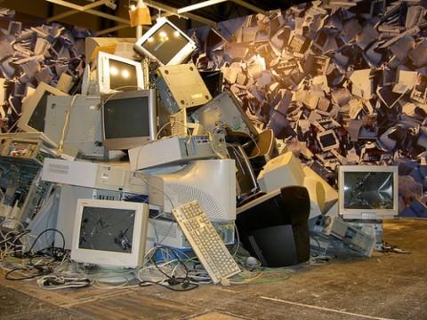 qué hacer con los desechos electrónicos