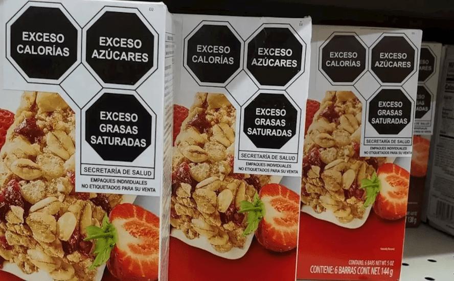 nuevo etiquetado para alimentos y bebidas