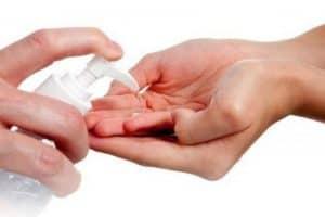 gel antibacterial para manos