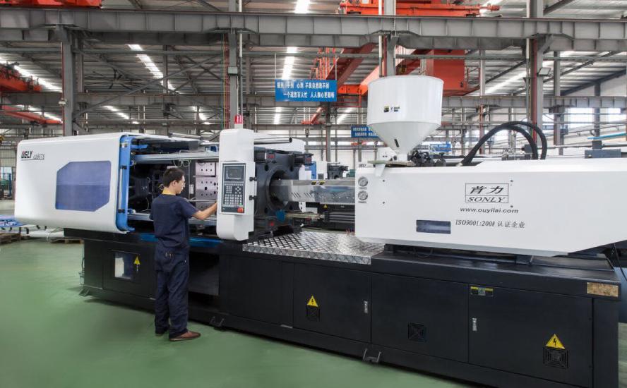 maquinas inyectoras de plastico para partes automotrices