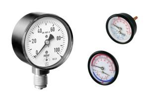 Manómetros, manejando la presión