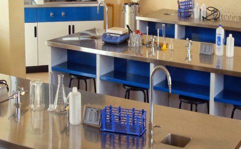 mobiliario de laboratorio