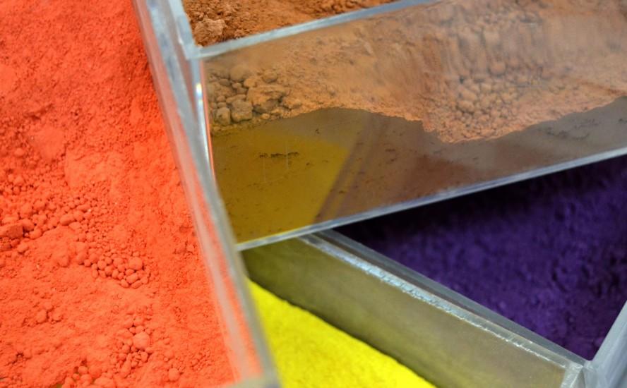 Pigmentos cerámicos, diversidad para elegir