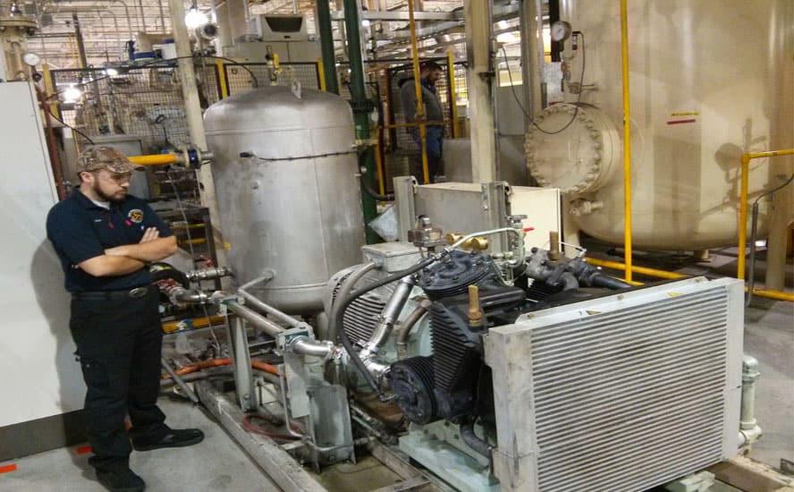 mantenimiento compresores de aire