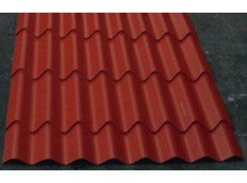 Tejas para techos for Laminas de plastico para paredes