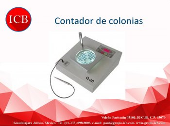 Contador de colonias digital