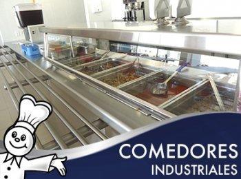 Comedores industriales - Abastecedora de equipos inoxidables servinox