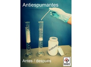 Antiespumantes de silicon