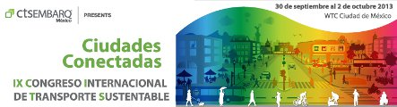 Congreso Internacional de Transporte Sustentable 2013